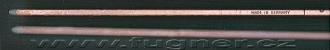Obr.18.Zaporny_a_kladny_uhlik_obloukove_lampy_Kinoprojektor_35mm_Ernemann_ZeissIkonObr. 18. Záporný a kladný uhlík vysokointenzitní obloukové lampy Kinoprojektoru 35mm Ernemann ZeissIkon