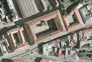 Obr05-Pohled-na-kasarna-v-Olomouci-zakladni-vojenska-sluzba-1957