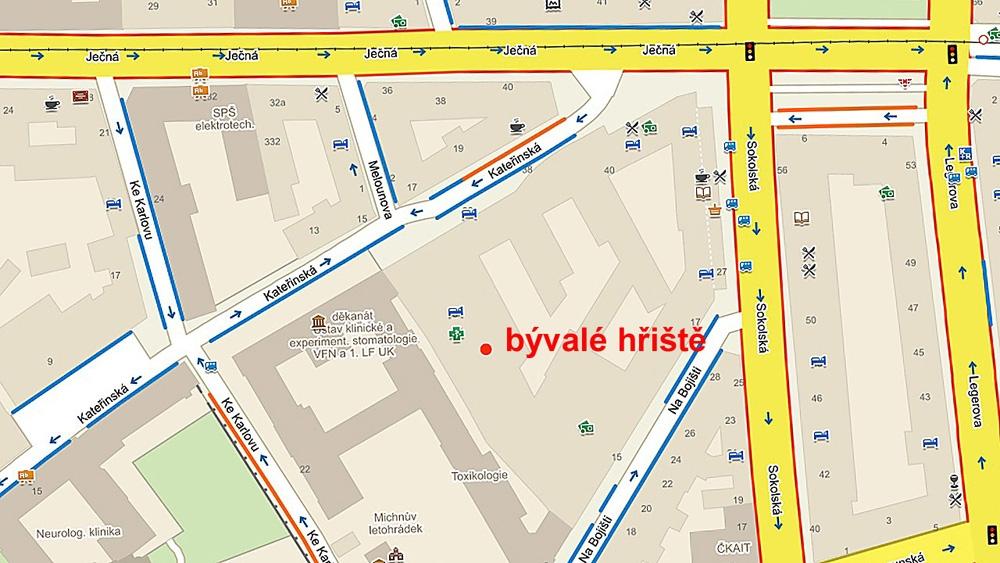 Obr11-mapa-detskeho-hriste-den-deti-zakladni-skolaObr. 11. Mapa již neexistujícího dětského hřiště v roce 1964 - Den dětí v roce 1964, základní škola ve Štěpánské ulici v Praze.
