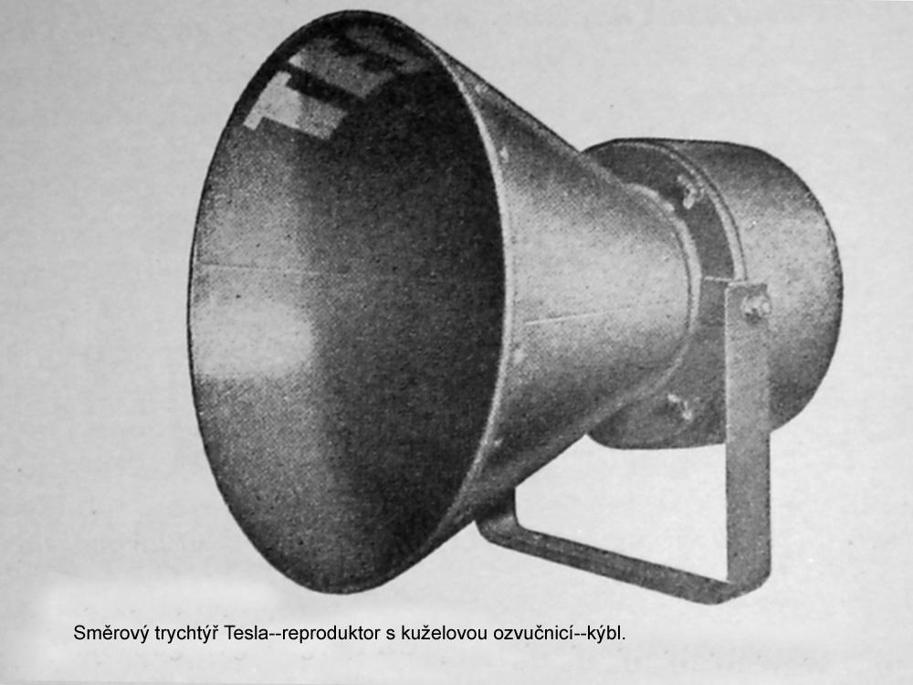 Obr.03. Reproduktor s kuželovou ozvučnicí--kýbl