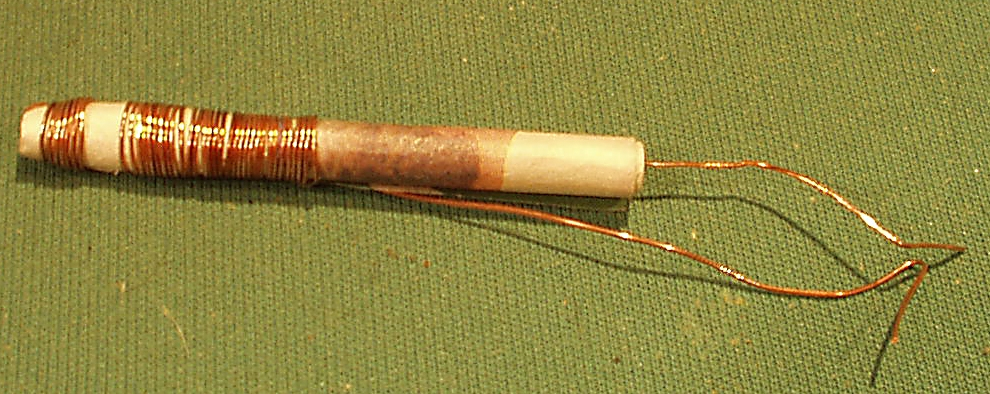 Obr. 12. Improvizovaný konektor o průměru 63 mm