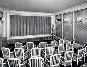 Obr.14. Hlediště vládního kina.  Já navštěvoval jen promítárnu vládního kina.