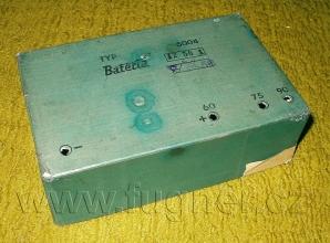Obr.5.  Krabička zanodové baterie, která se dochovala - základní vojenská služba v roce 1956.