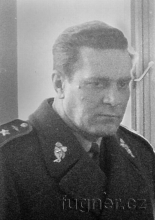 Obr. 1. Generálmajor Zdeněk Kamenický. Setkání s generálem - vojenské cvičení  - záloha - rok 1965