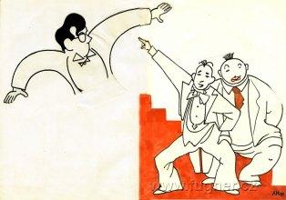 Obr.12. Hofmajstrova karikatura.