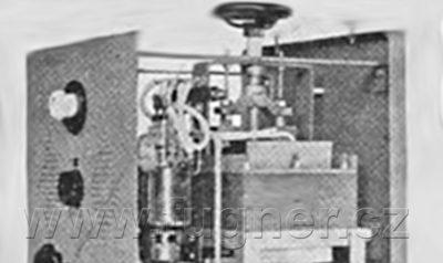Elektronkový rtuťový usměrňovač pro obloukovku - základní vojenská služba.