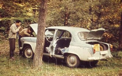 Moskvič 407 - rok 1960 - první automobil