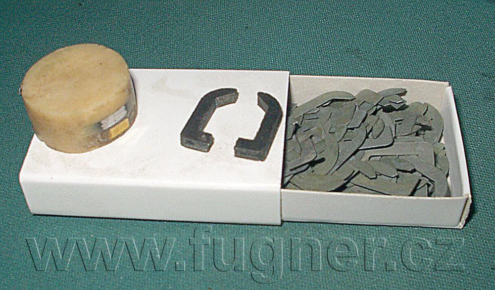 Magnetofonové hlavy - základní vojenská služba 1957.