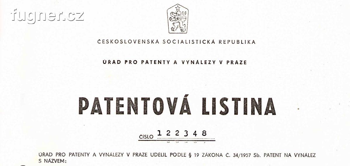Udělení patentu – patent na zařízení pro výrobu měrných magnetických pásků.