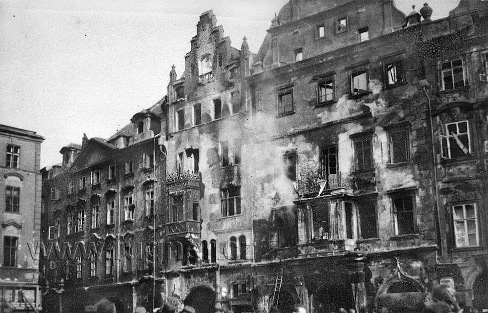 Pražské povstání, květen 1945 ve fotografiích