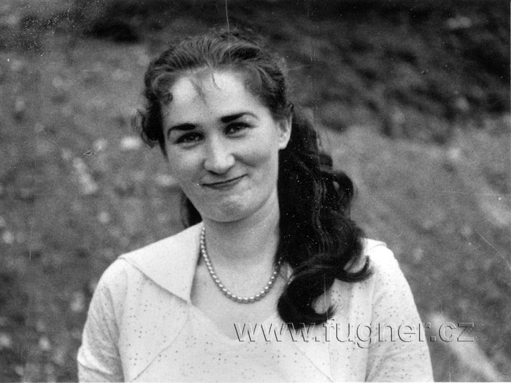 Mirka Pokorná - klavíristka