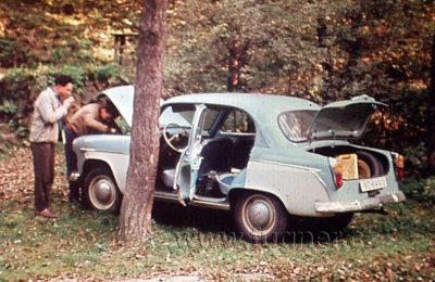 Elektromobil MOSKVIČ 407